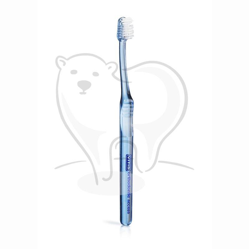 specjalistyczna szczoteczka do zębów Vitis Orthodontic Access
