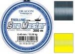 yłka Dragon SEA MASTER Trolling 300m 0.50 mm/19.10 kg szara