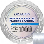 Fluorocarbon DRAGON INVISIBLE 20m 0.18 mm/2.35 kg  clear