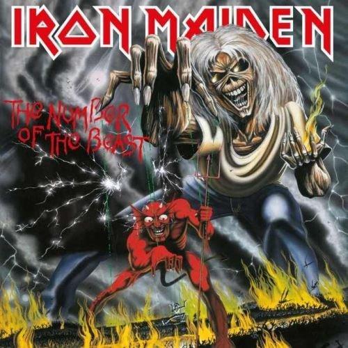 Iron Maiden - The Number Of The Beast [CD], Okładka