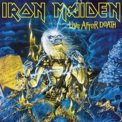Iron Maiden - Live After Death [2CD], Okładka