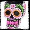 Meksykańska Czaszka czarna - popielniczka