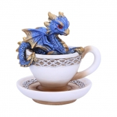 Niebieski Smok Draguccino - figurka