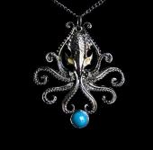 Kraken - naszyjnik talizman, seria: Bestiariusz
