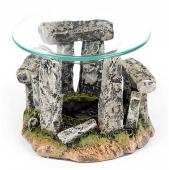 Stonehenge Kamienny Krąg - kominek podgrzewacz do olejków