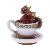 Czerwony Smok Draguccino - figurka