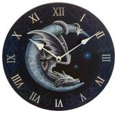Smok na Księżycu Sweet Dreams - zegar ścienny z nadrukiem