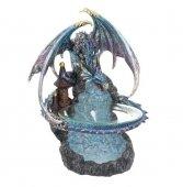Błękitny Smok - kominek podgrzewacz do olejków