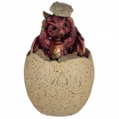 Jajo z Czerwonym Smoczątkiem - mała szkatułka