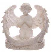 Skrzydlaty Anioł - świecznik na 2 podgrzewacze