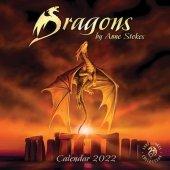 Smoki Anne Stokes Dragons - Oficjalny Kalendarz 2022