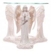 Trzy Białe Anioły - kominek podgrzewacz do olejków