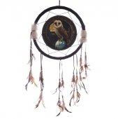 Sowa z Magiczną Kulą - łapacz snów, 33cm