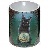 Kot Lot Czarownic - kominek podgrzewacz do olejków