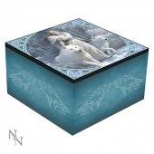 Zimowi Strażnicy - szkatułka z lusterkiem