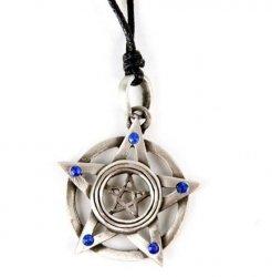 Podwójny Pentagram - wisiorek