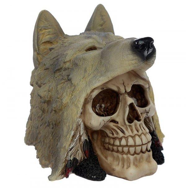 figurka czaszki Wolf Skull