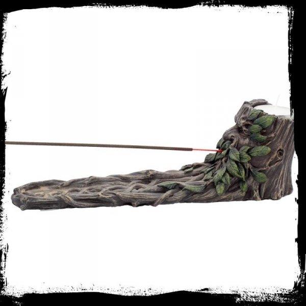 prezenty w stylu fantasy: podstawka na kadzidła Green Man dziad Borowy Ent Pasterz Drzew