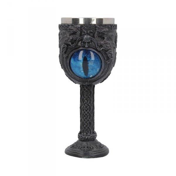 """kielich dekoracyjny Oko Smoka - """"Ice Dragon's Glare Goblet"""" Nemesis Now"""