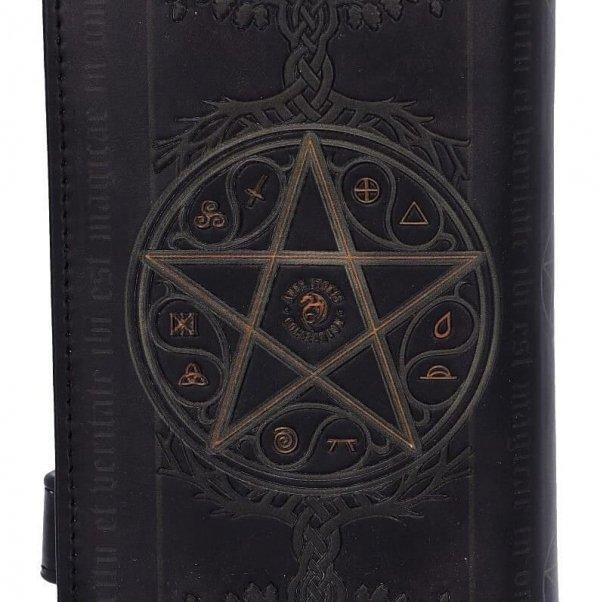 """wytłaczany portfel """"Czarownica i Smok"""" Anne Stokes od Nemesis Now - magiczna portmonetka"""