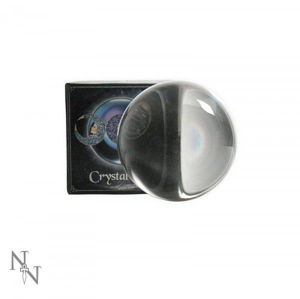 szklana kula kryształowa o średnicy 7 cm