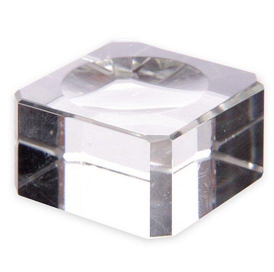 szklana podstawka do kryształowej kuli