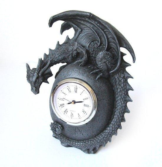 zegar zegarek ze smokiem - smocze gadżety i prezenty