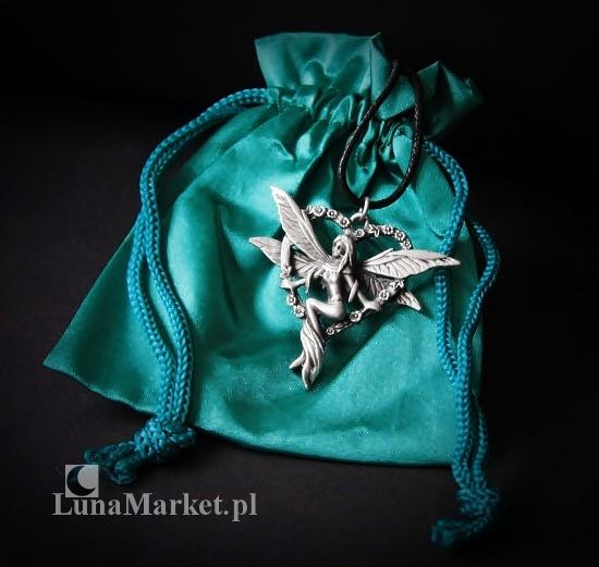 """magiczny naszyjnik """"Serce Elfa"""" - talizman: Szczęście i Miłość"""