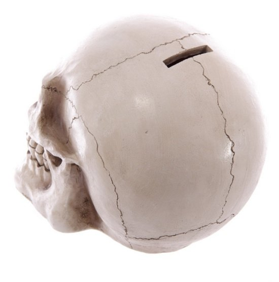 Duża Czaszka - skarbonka w kształcie czaszki