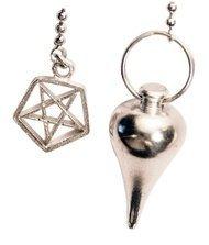 """wahadełko czarownicy z pentagramem """"Witches Pendulum"""" - Wahadełko Wiedźmy"""