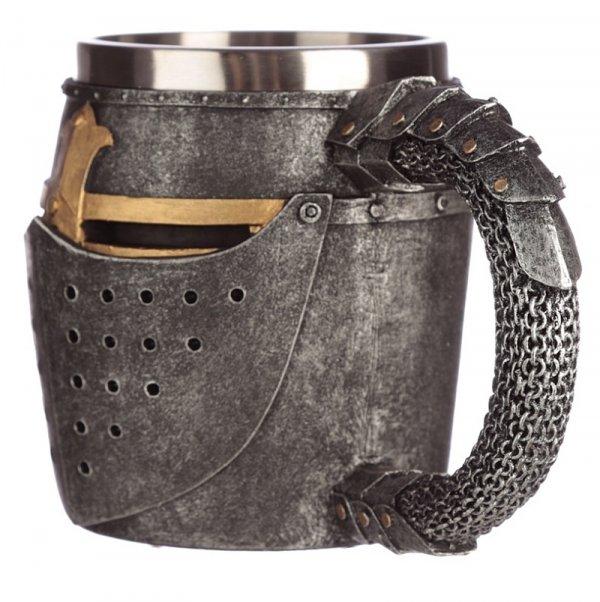 kufel średniowieczny hełm rycerski - Hełm Rycerza