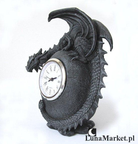 zegar ze smokiem - gadżety ze smokami, smocze prezenty