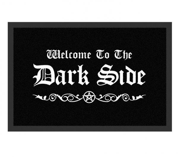"""Welcome to the Dark Side - wycieraczka do butów z napisem """"Witaj po mrocznej stronie"""""""