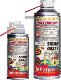 Smar biały z PTFE WGT 196 TOP 400ml spray Johansson