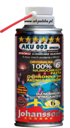 Pasta do akumulatorów AKU 003 SPECIAL 150ml spray JOHANSSON