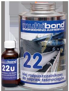 Klej rozpuszczalnikowy do taśmociągów Multibond 22