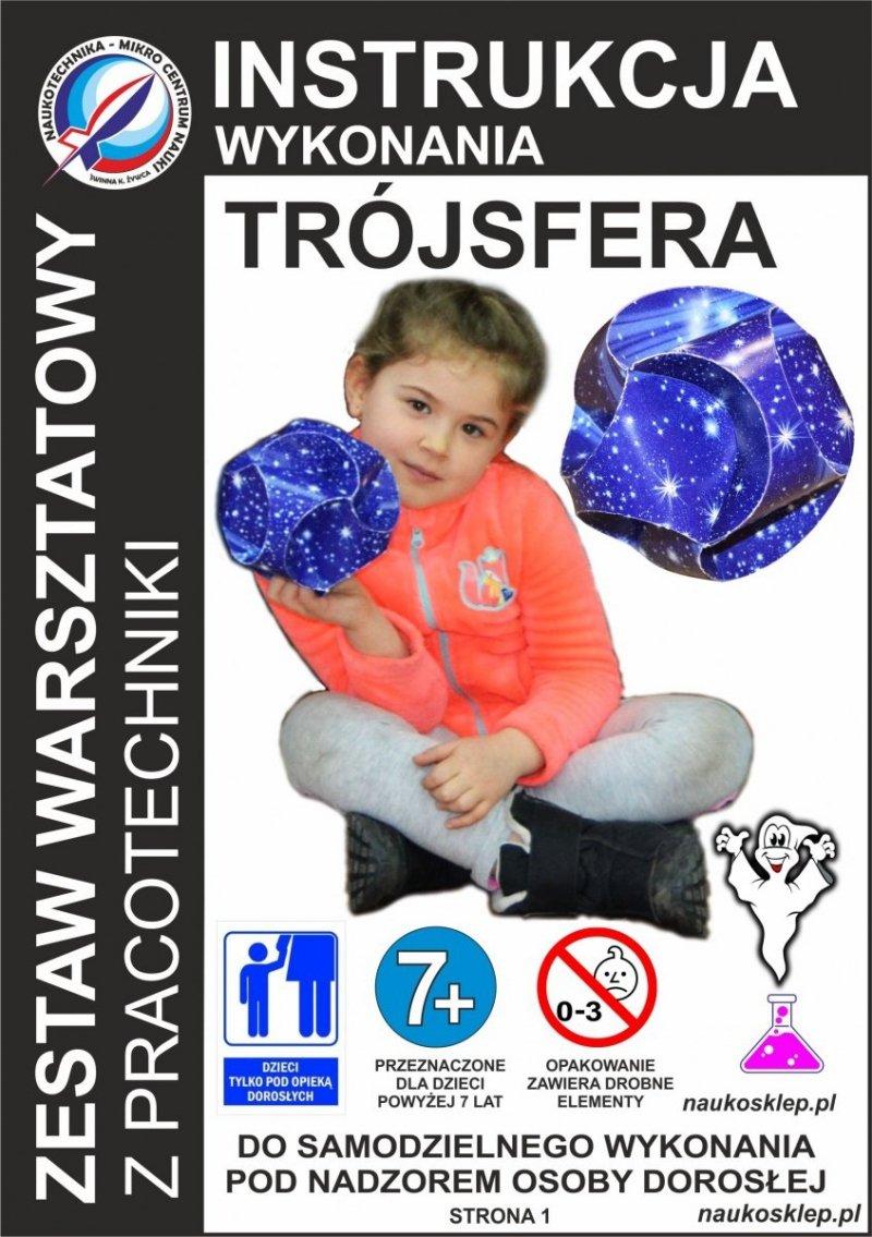 Trójsfera - bryła z 3 pasków - naukosklep 2