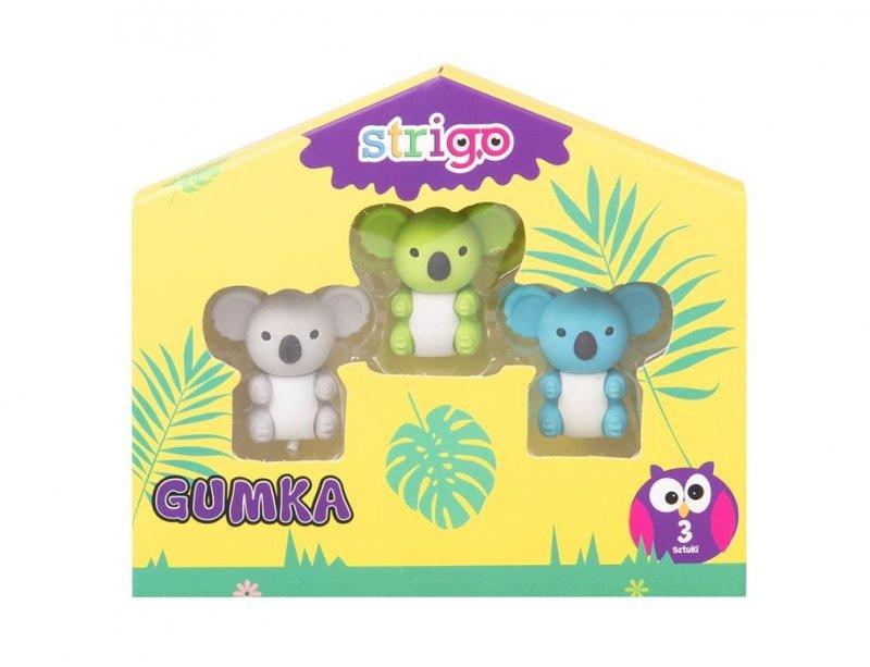 Gumki zwierzątka Koala STRIGO