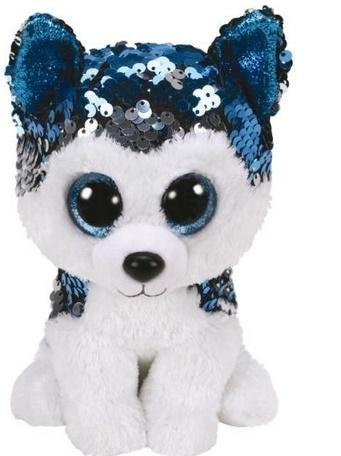 Beanie Boos Slush - Cekinowy Husky 15 cm