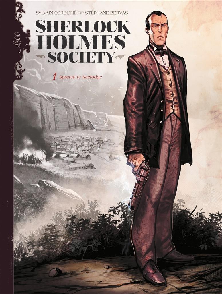 Sherlock Holmes Society T.1 Przygoda w Keelodge