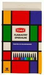 Pisaki spieralne YSL 12 kolorów TOMA