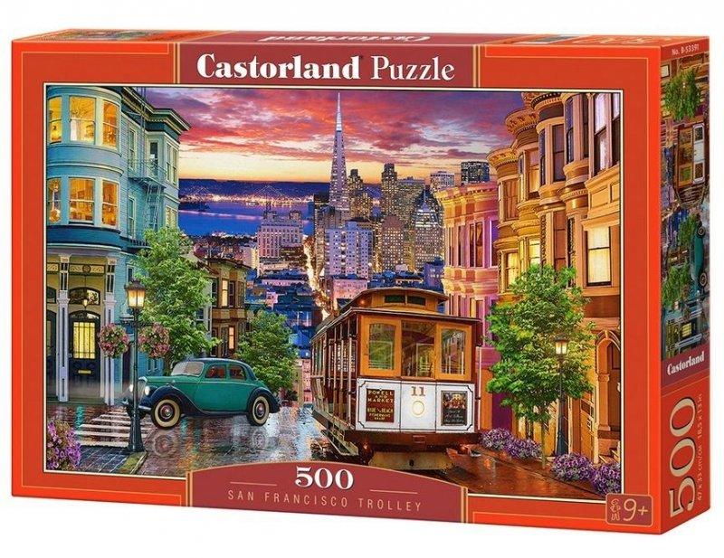 Puzzle 500 San Francisco Trolley CASTOR