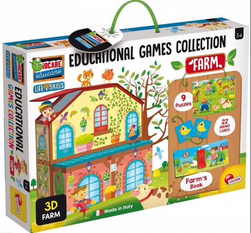 Kolekcja gier edukacyjnych - Farma