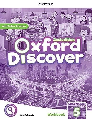 Oxford Discover 5 WB + online practice w.2020