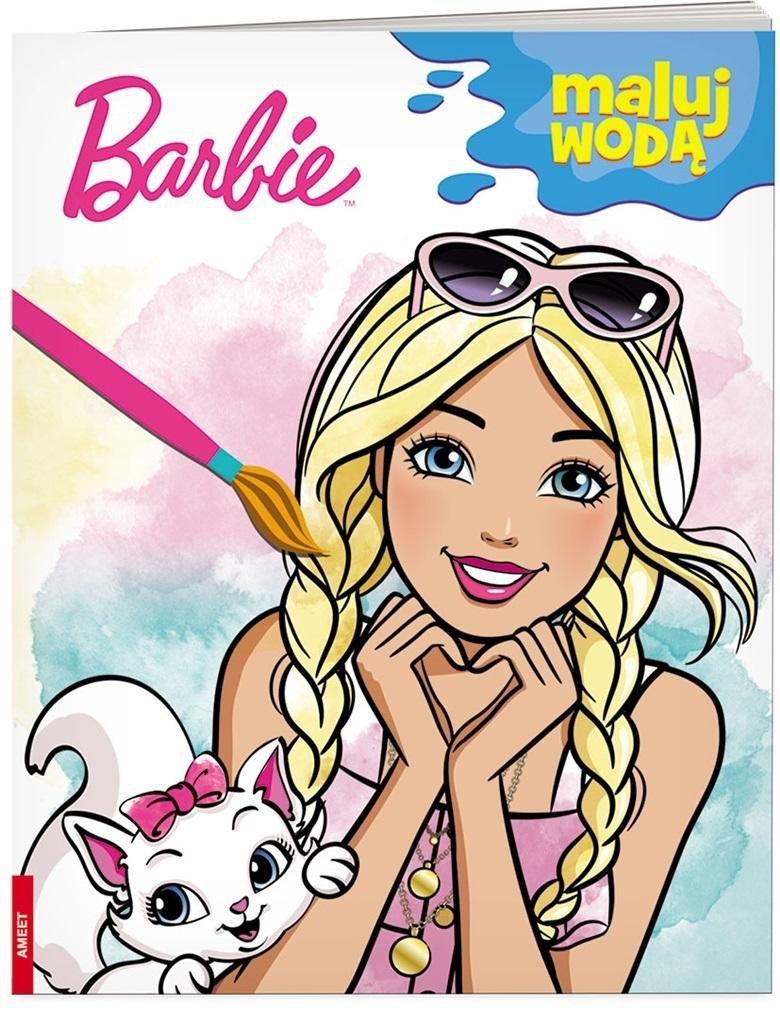 Barbie. Maluj wodą