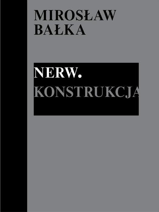 Mirosław Bałka: Nerw. Konstrukcja