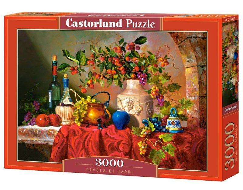 Puzzle 3000 Tavola di Capri CASTOR