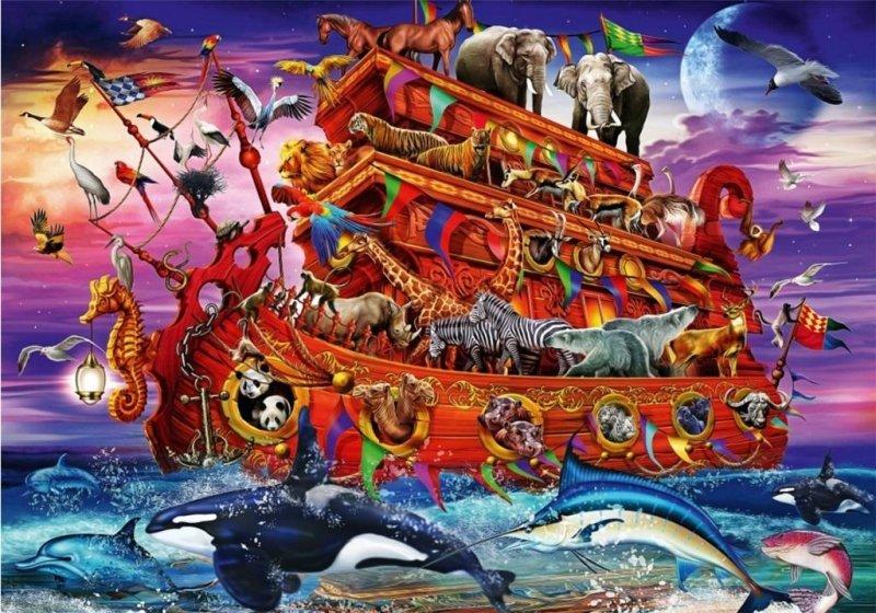 Puzzle 1000 Arka Noego Ciro Marchetti