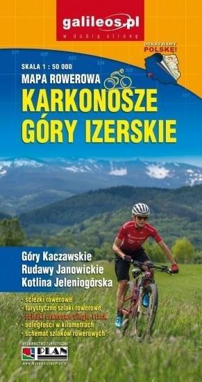 Mapa rowerowa - Karkonosze Góry Izerskie 1:50 000