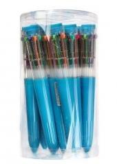 Długopis 10 kolorowy mix (12szt)